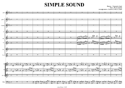 Gianmario Liuni - sheets music - Simple Sound